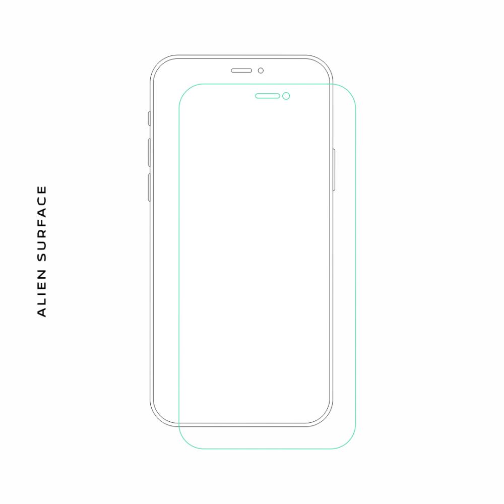 HTC One X/XL folie protectie Alien Surface