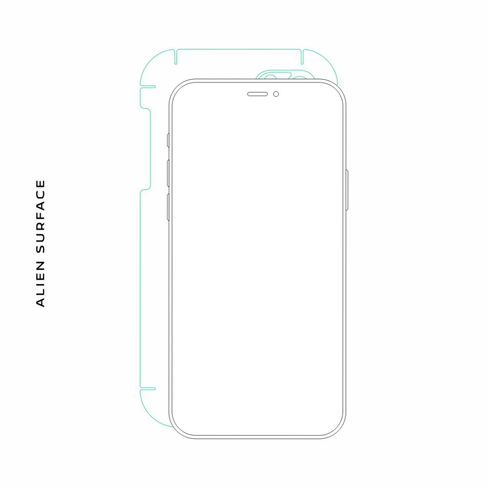 HTC Desire 516 Dual Sim folie protectie Alien Surface
