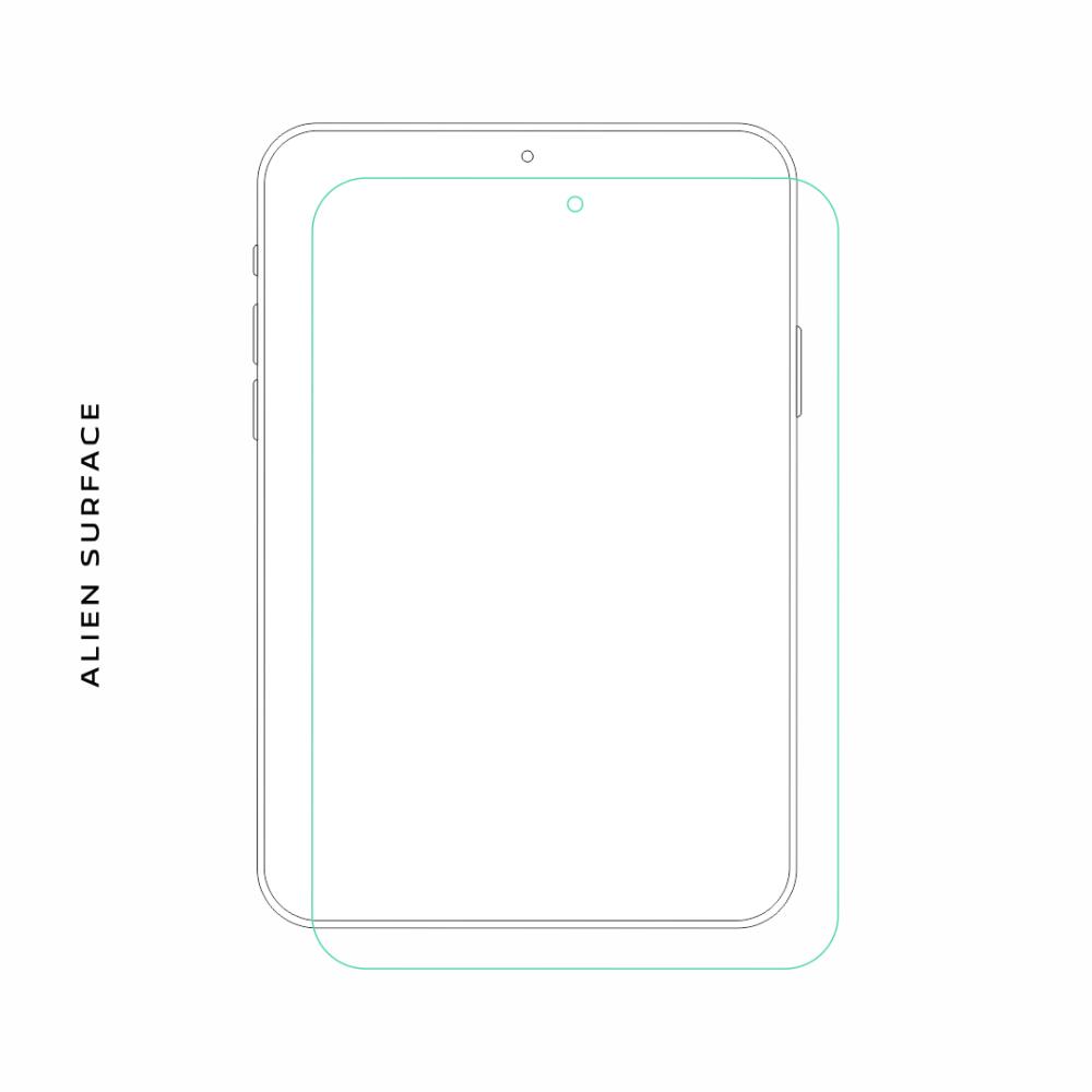 Samsung Galaxy Tab 10.1 folie protectie Alien Surface