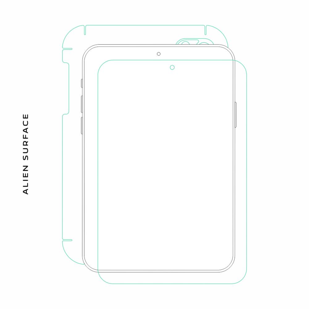 Samsung Galaxy Tab 2 7.0 folie protectie Alien Surface