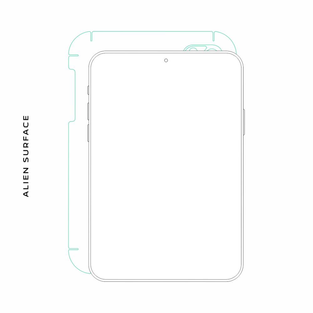 Apple iPad 2 folie protectie Alien Surface