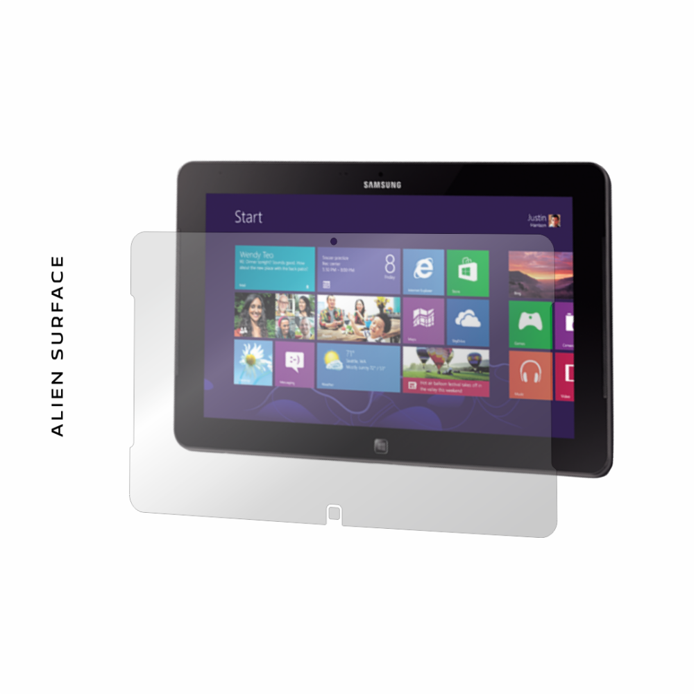 Samsung Ativ XE500T1C-A01RO 11.6 inch folie protectie Alien Surface