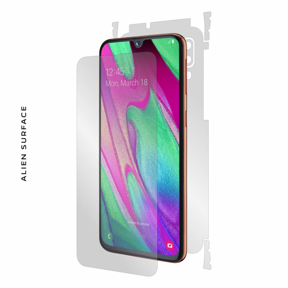 Samsung Galaxy A40 folie protectie Alien Surface
