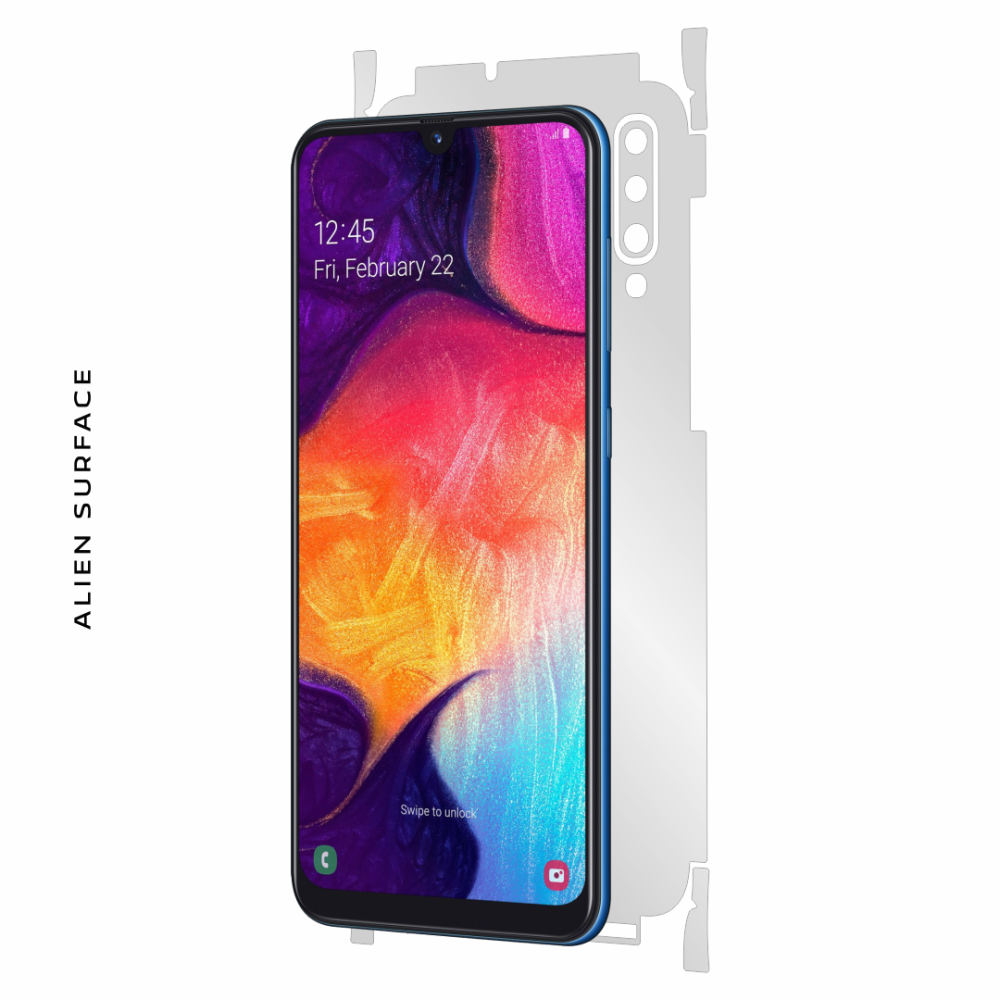 Samsung Galaxy A50s folie protectie Alien Surface