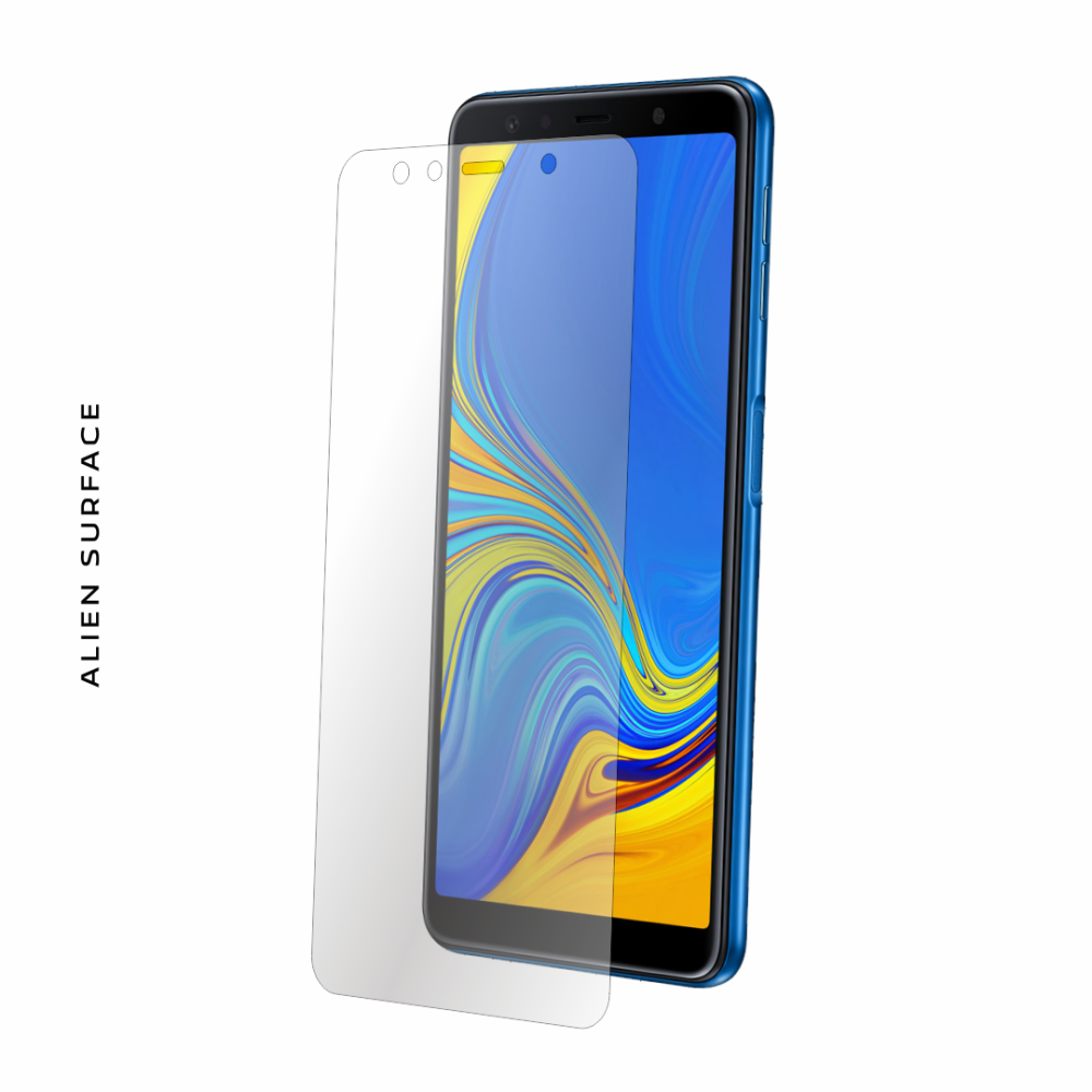 Samsung Galaxy A7 (2018) folie protectie Alien Surface