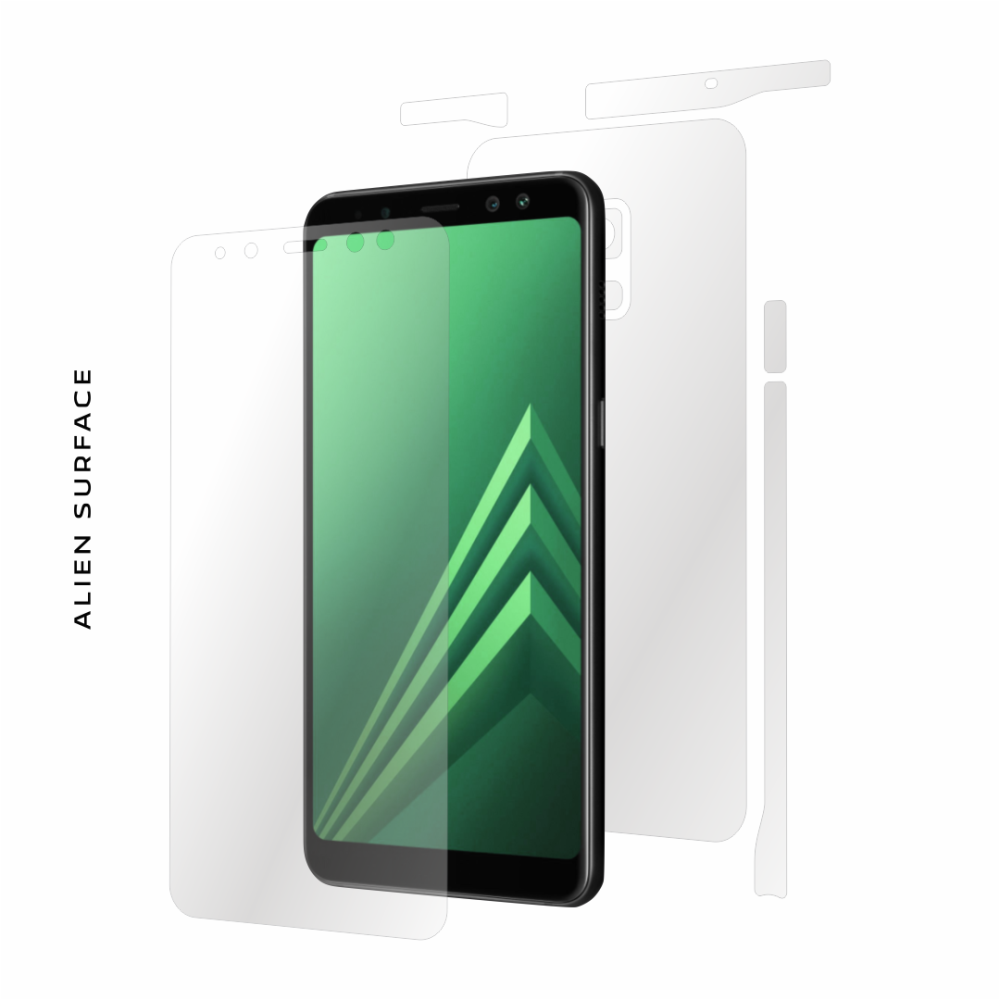 Samsung Galaxy A8 Plus (2018) folie protectie Alien Surface