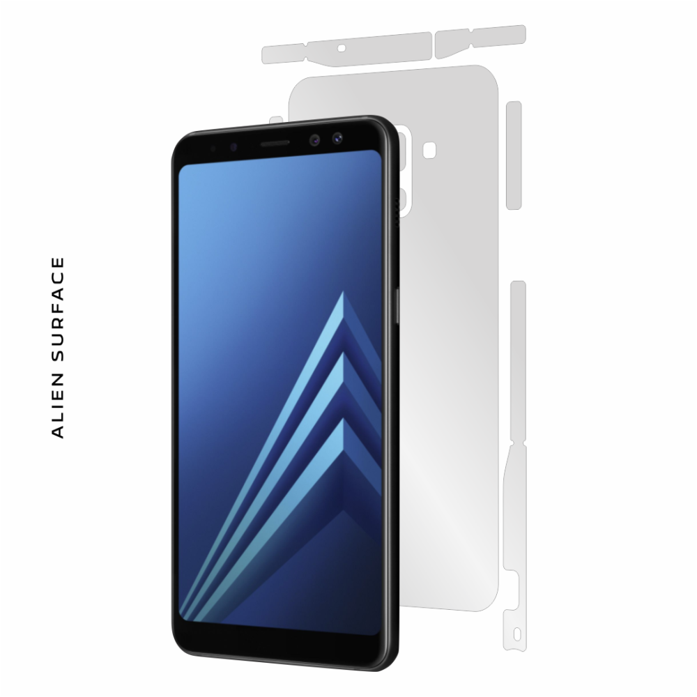 Samsung Galaxy A8 (2018) folie protectie Alien Surface