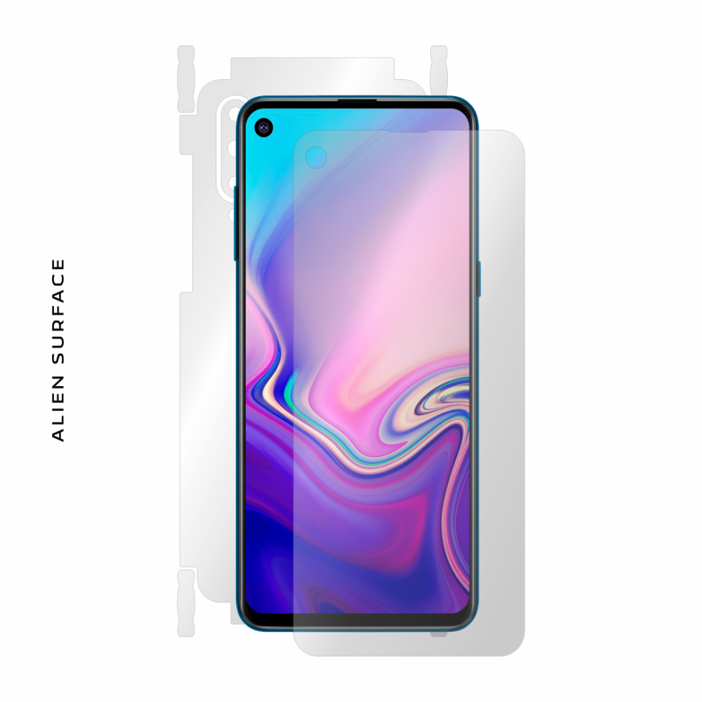 Samsung Galaxy A8s folie protectie Alien Surface