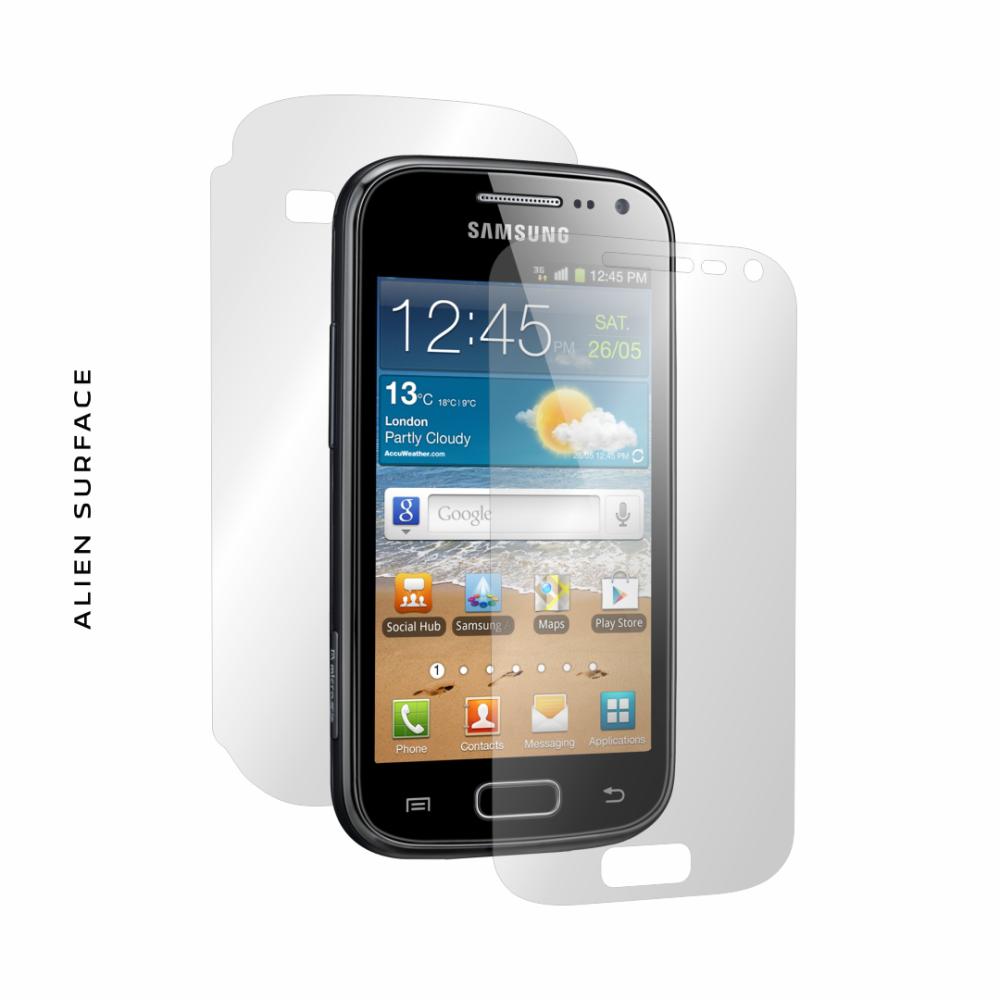 Samsung Galaxy Ace 2 folie protectie Alien Surface