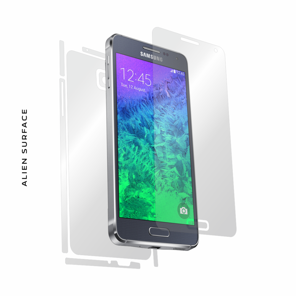 Samsung Galaxy Alpha folie protectie Alien Surface