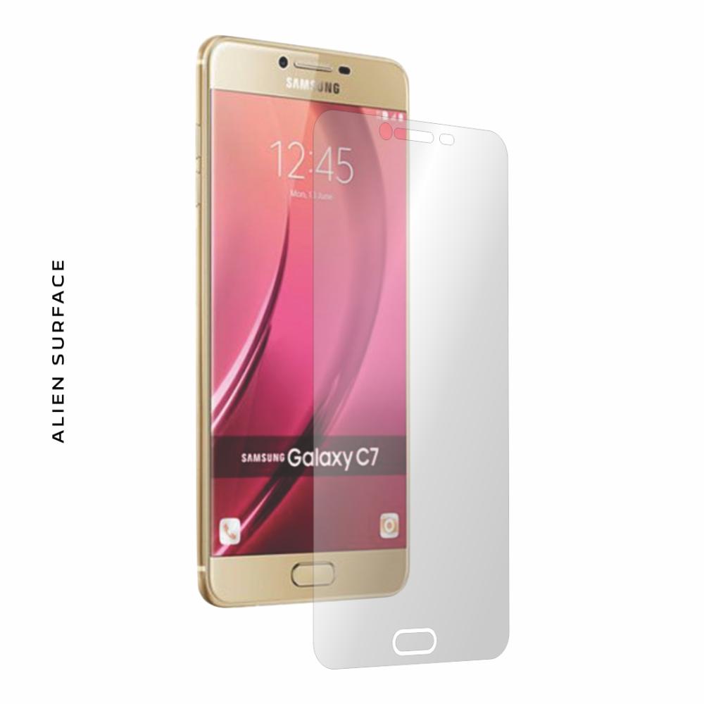 Samsung Galaxy C7 folie protectie Alien Surface