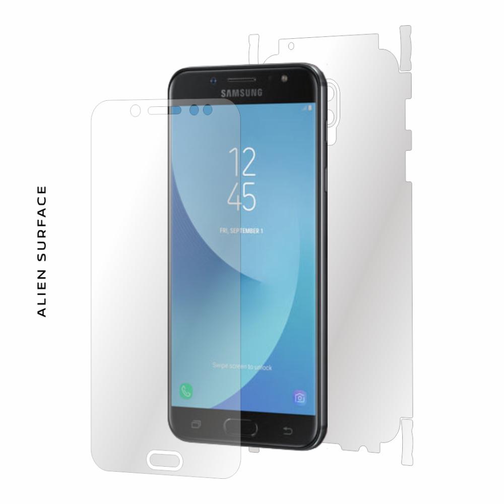 Samsung Galaxy C8 folie protectie Alien Surface