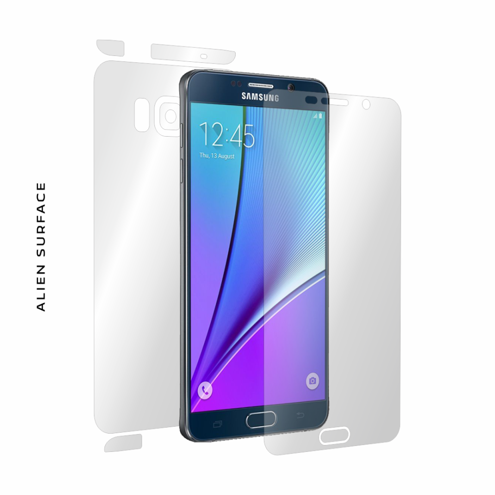 Samsung Galaxy Note 5 folie protectie Alien Surface