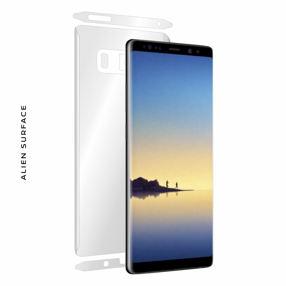 Samsung Galaxy Note 8 folie protectie Alien Surface