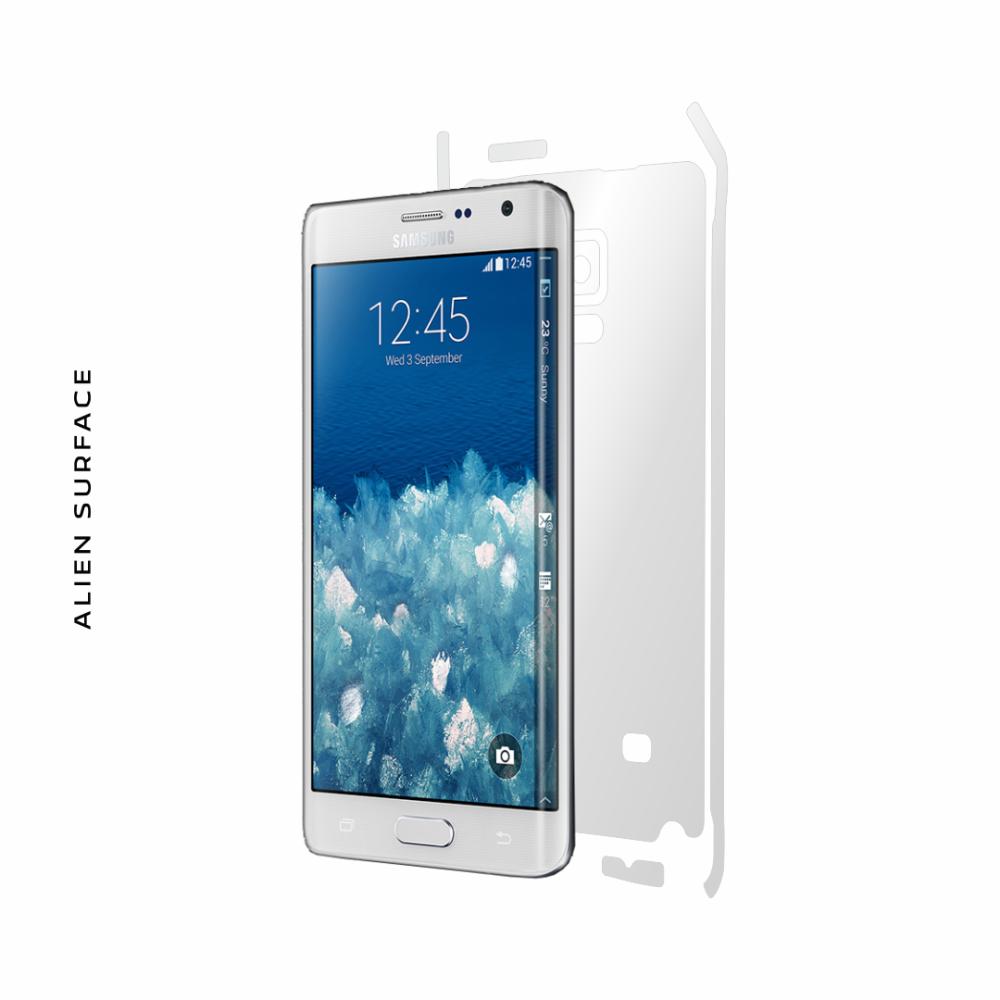 Samsung Galaxy Note Edge folie protectie Alien Surface