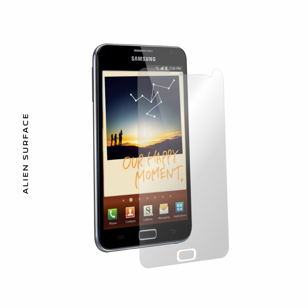 Samsung Galaxy Note folie protectie Alien Surface