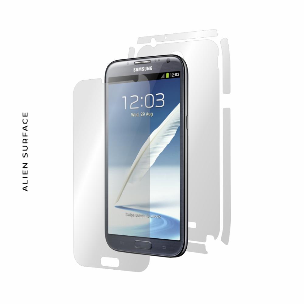 Samsung Galaxy Note 2 folie protectie Alien Surface