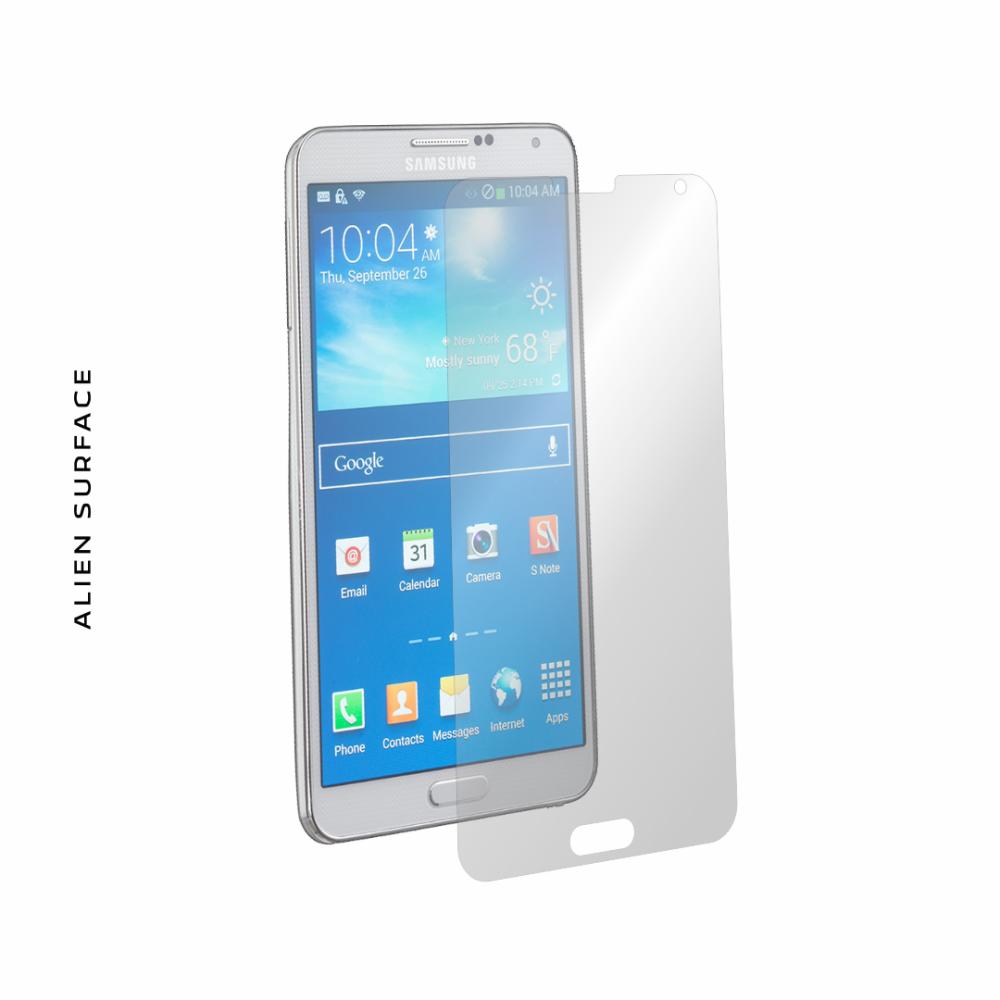 Samsung Galaxy Note 3 folie protectie Alien Surface