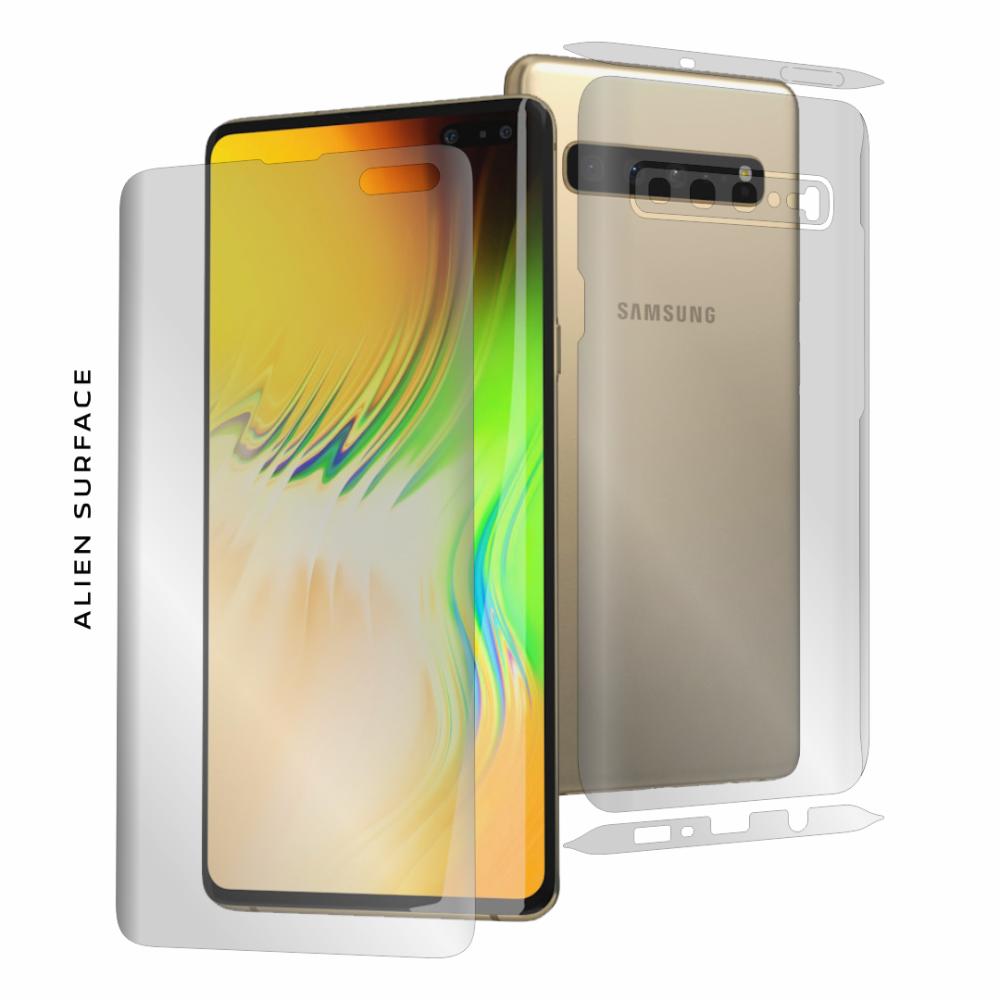 Samsung Galaxy S10 5G folie protectie Alien Surface