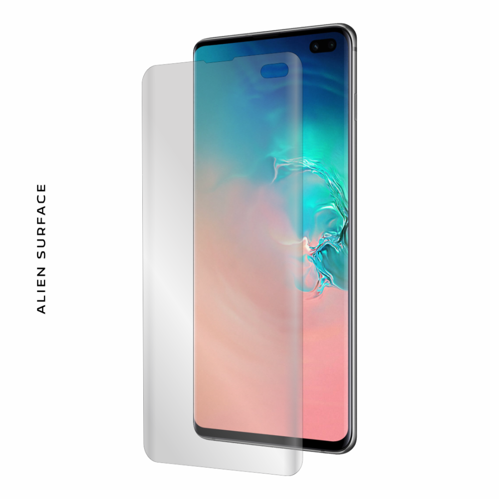 Samsung Galaxy S10 Plus folie protectie Alien Surface