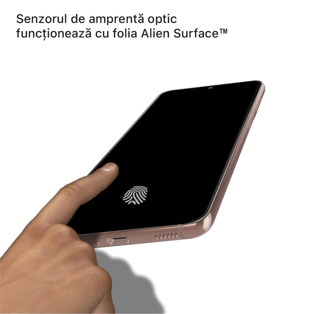 Samsung Galaxy S21 Ultra 5G folie protectie Alien Surface