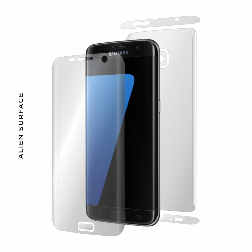 Samsung Galaxy S7 Edge folie protectie Alien Surface