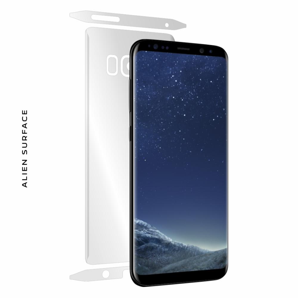 Samsung Galaxy S8 folie protectie Alien Surface