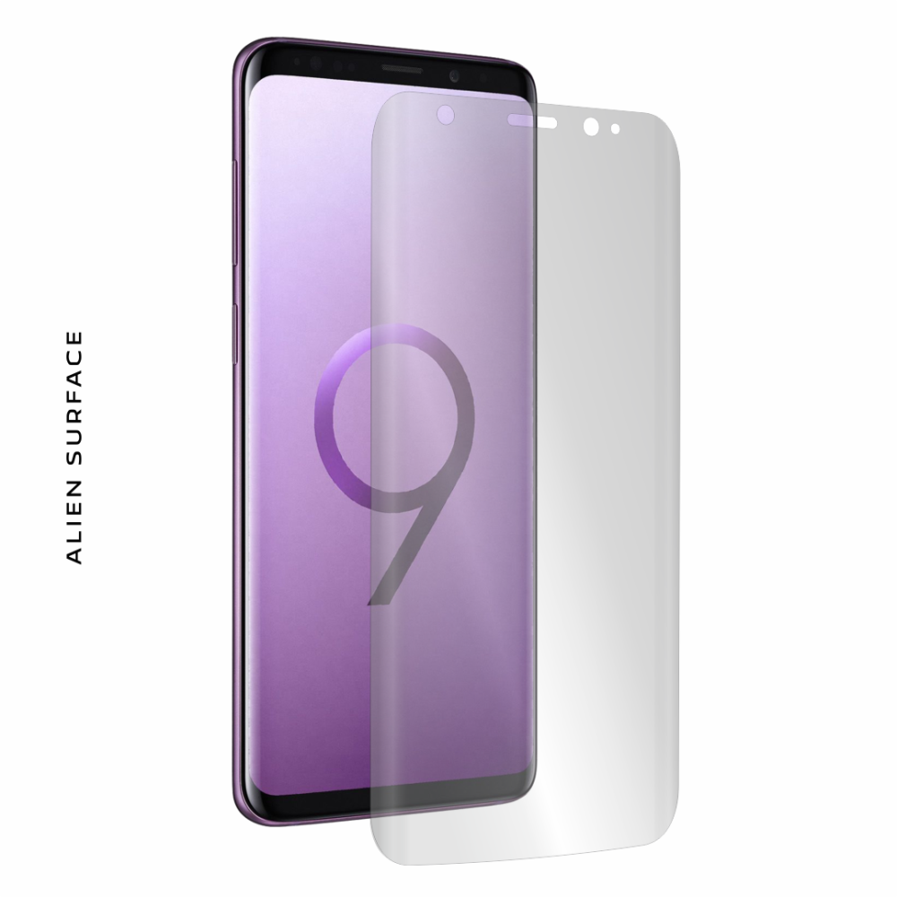 Samsung Galaxy S9 Plus folie protectie Alien Surface