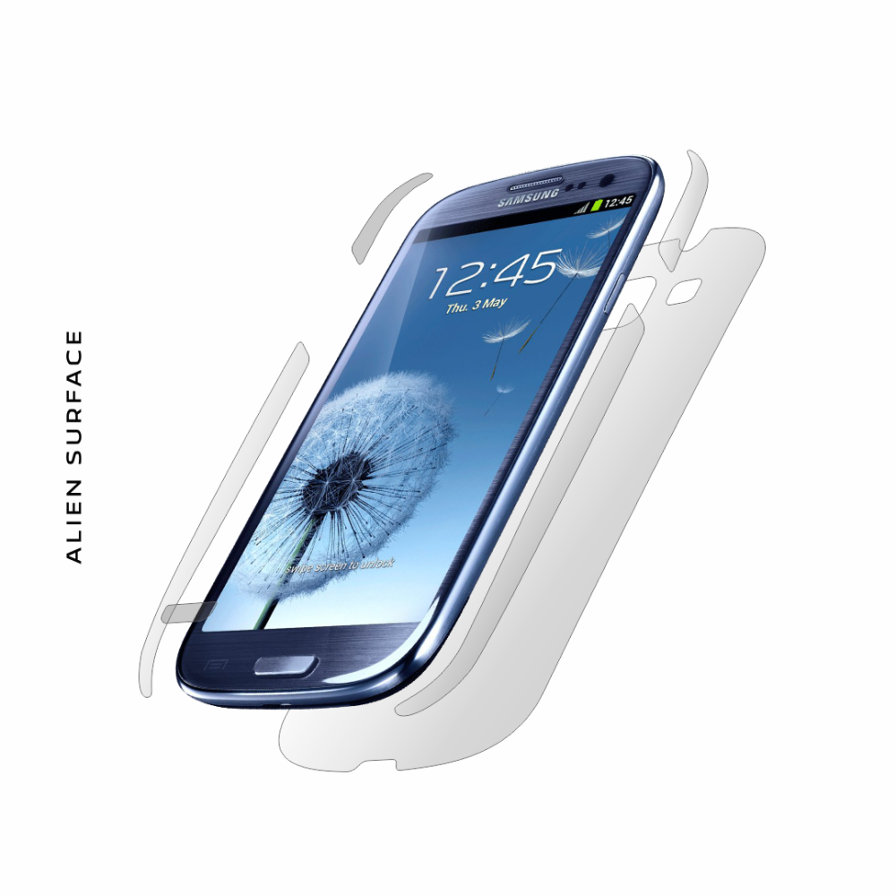 Samsung Galaxy S3 folie protectie Alien Surface