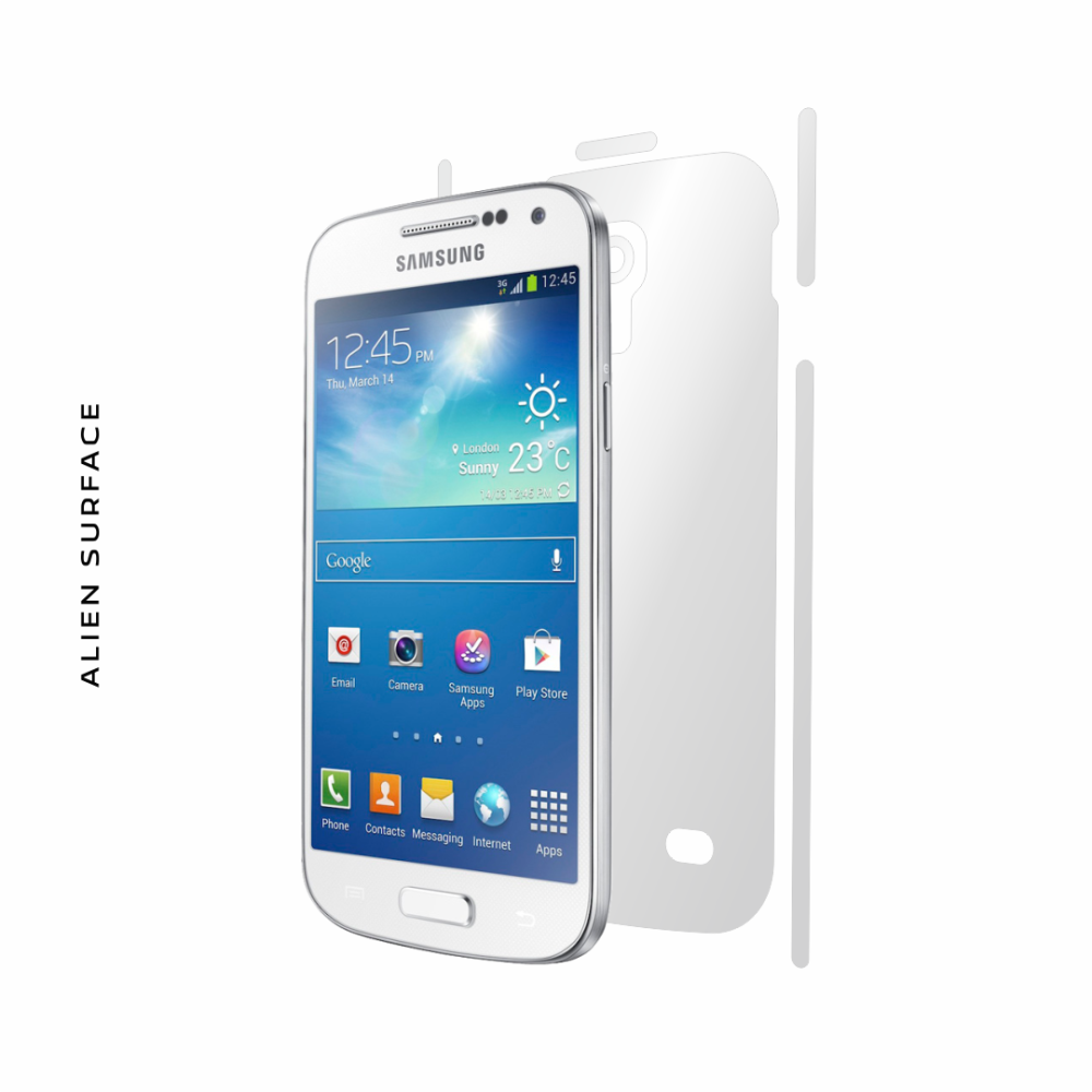 Samsung Galaxy S4 Mini folie protectie Alien Surface