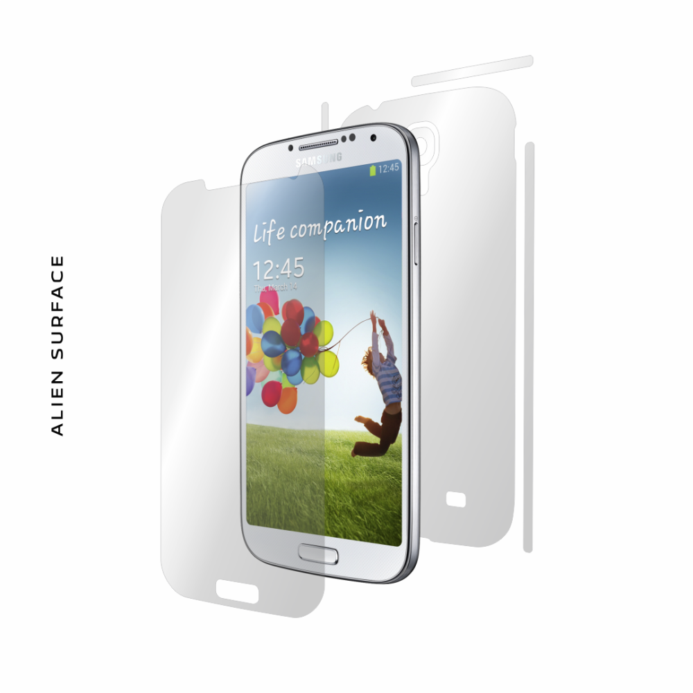 Samsung Galaxy S4 folie protectie Alien Surface