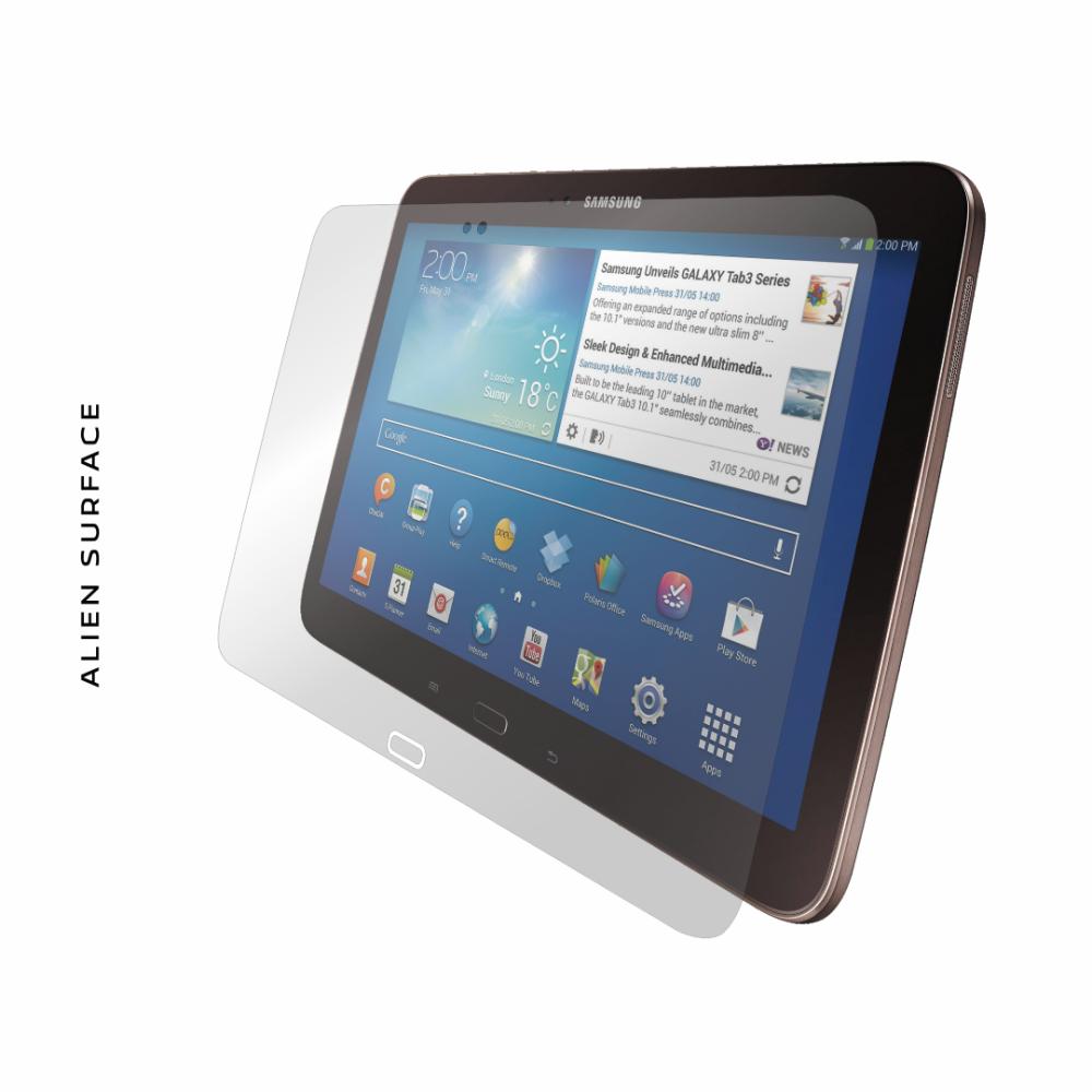 Samsung Galaxy Tab 3 10.1 folie protectie Alien Surface