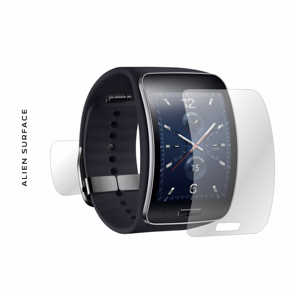 Samsung Gear S folie protectie Alien Surface