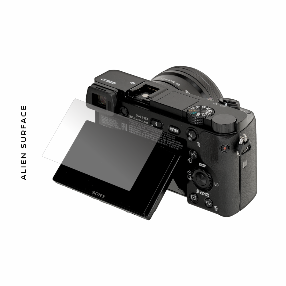 Sony A6000 folie protectie Alien Surface