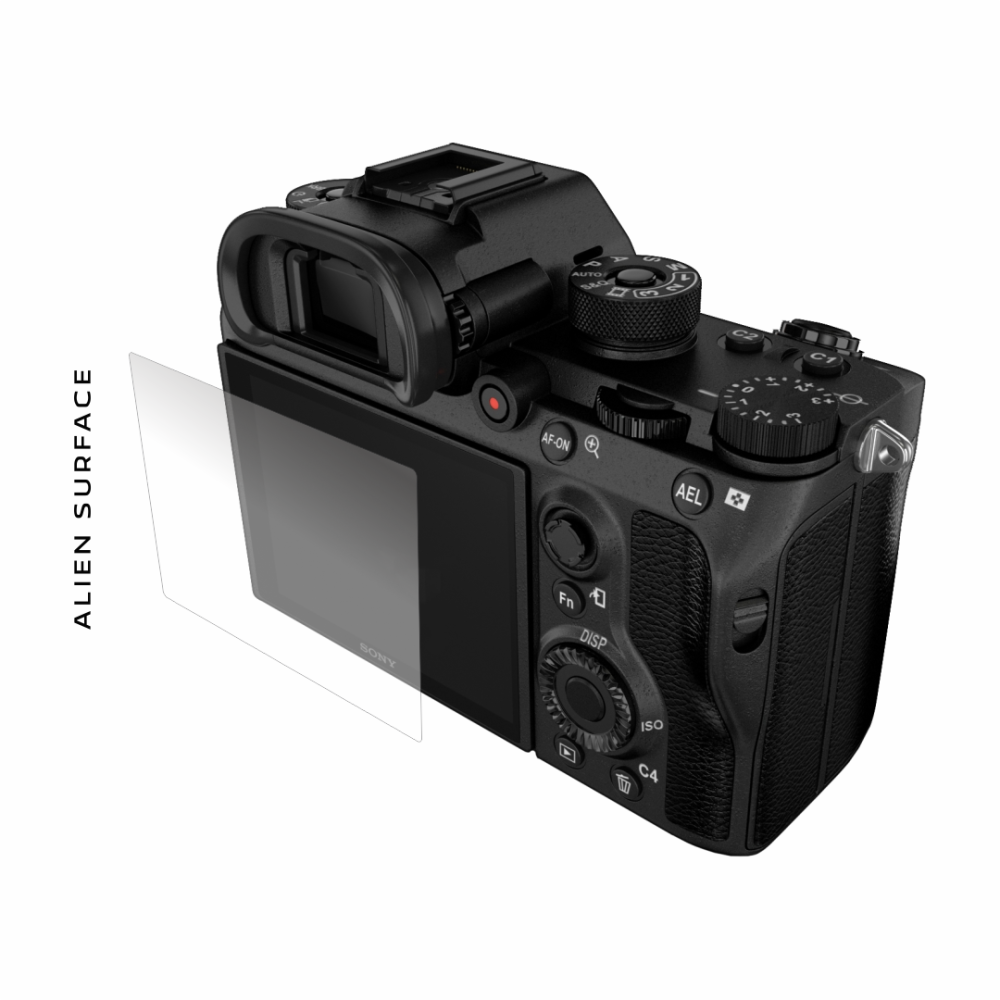 Sony A9 folie protectie Alien Surface