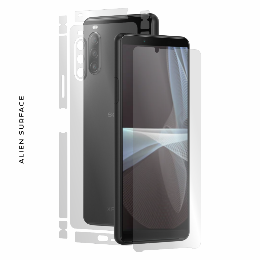 Sony Xperia 10 III folie protectie Alien Surface