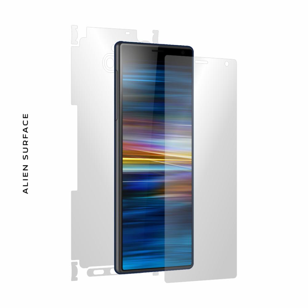 Sony Xperia 10 Plus folie protectie Alien Surface