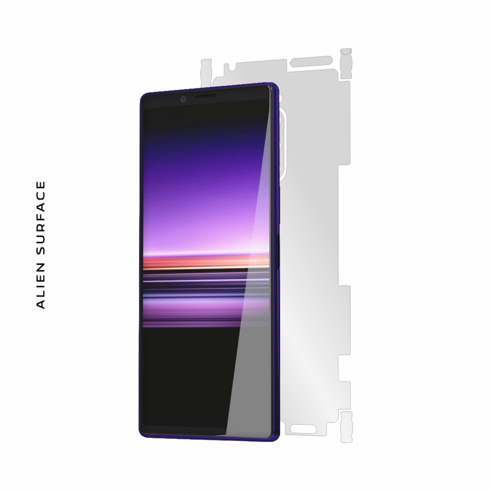 Sony Xperia 1 folie protectie Alien Surface