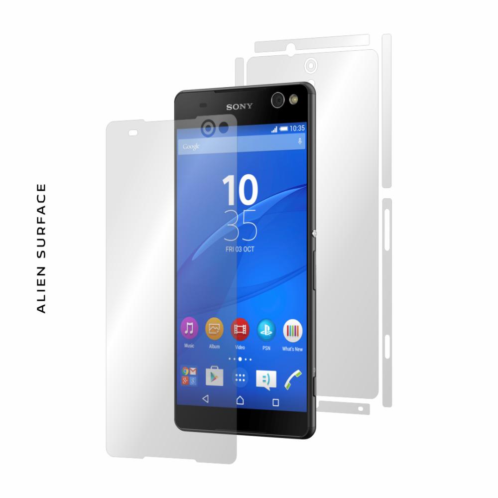 Sony Xperia C5 folie protectie Alien Surface