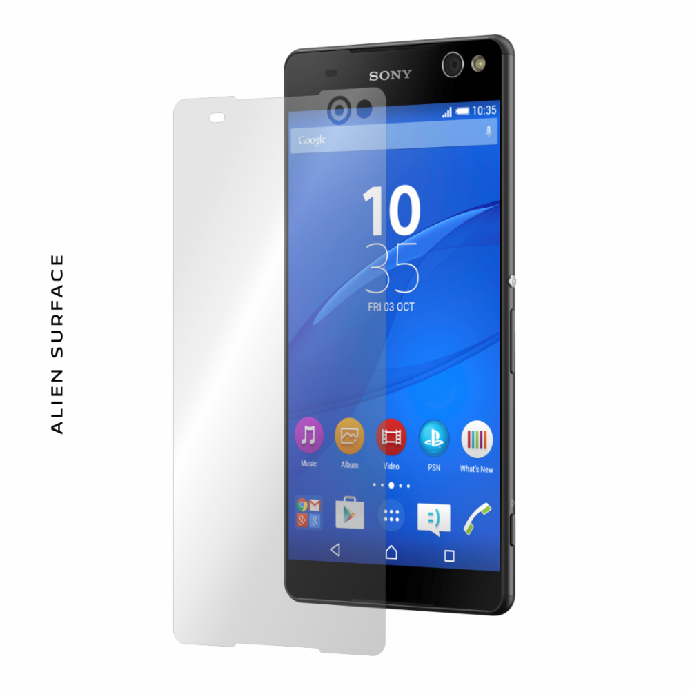 Sony Xperia C5 Ultra Dual folie protectie Alien Surface