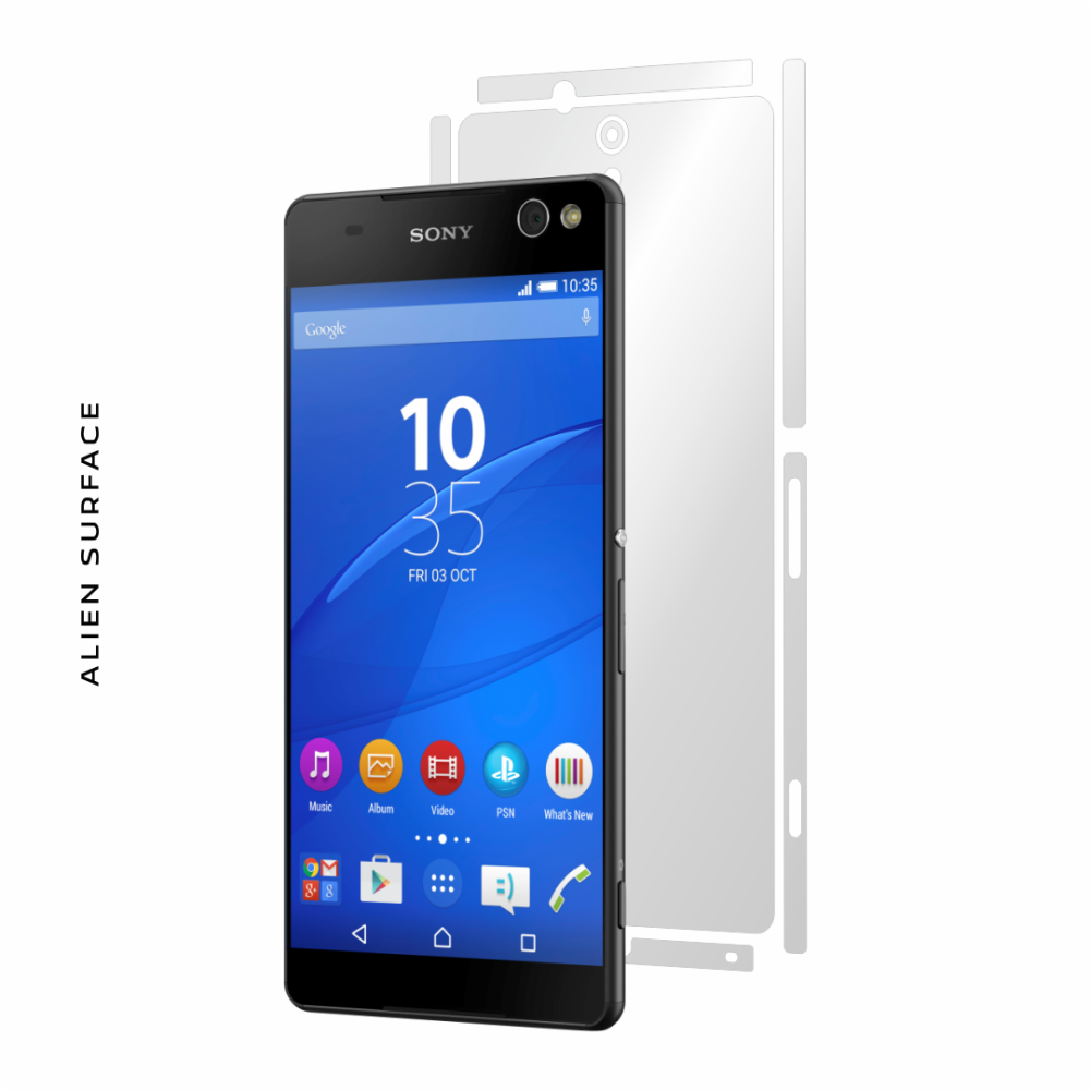 Sony Xperia C5 Ultra folie protectie Alien Surface