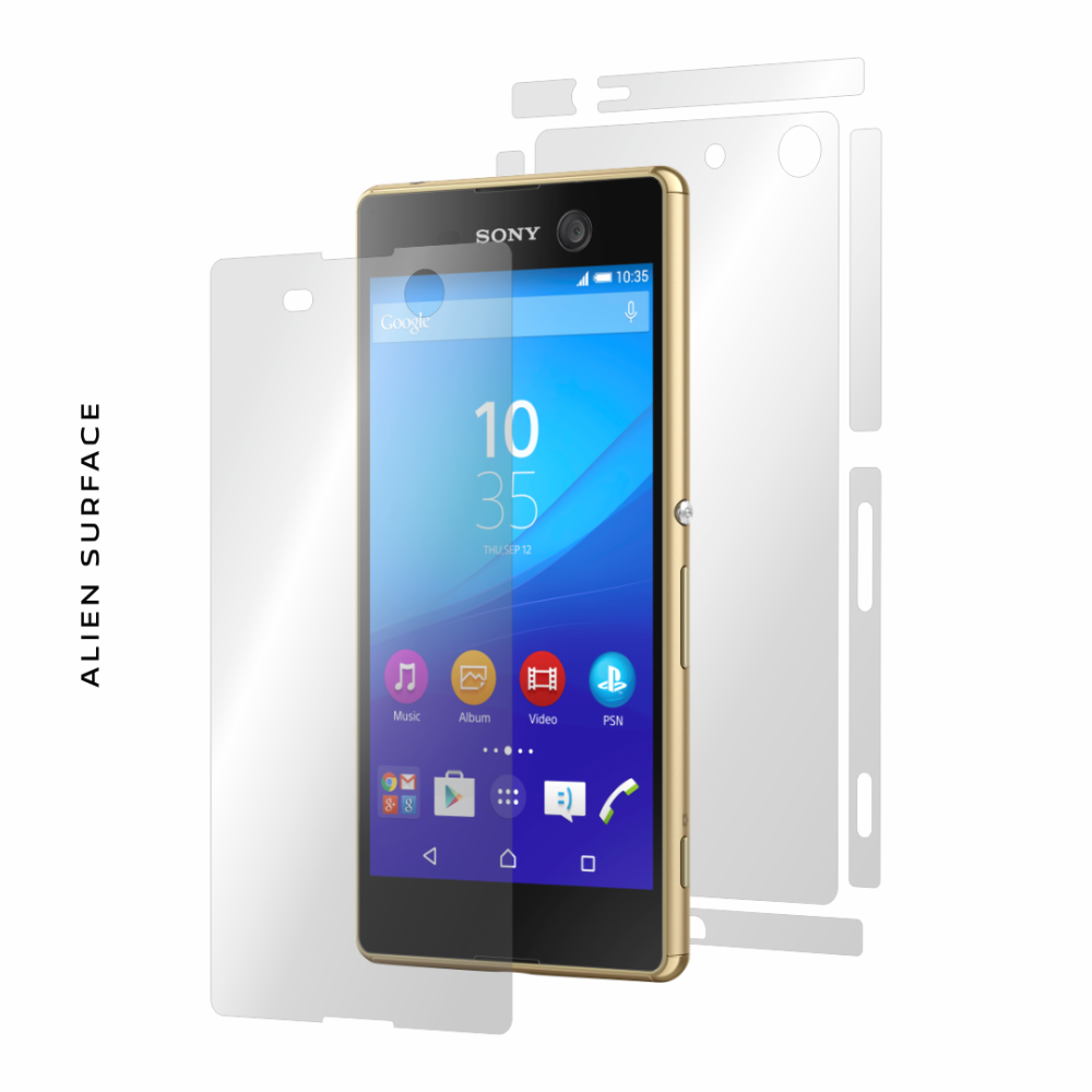 Sony Xperia M5 folie protectie Alien Surface