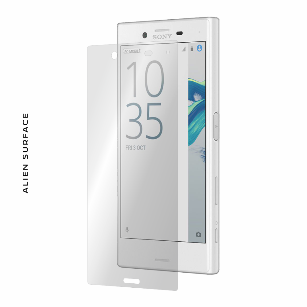 Sony Xperia X Compact folie protectie Alien Surface