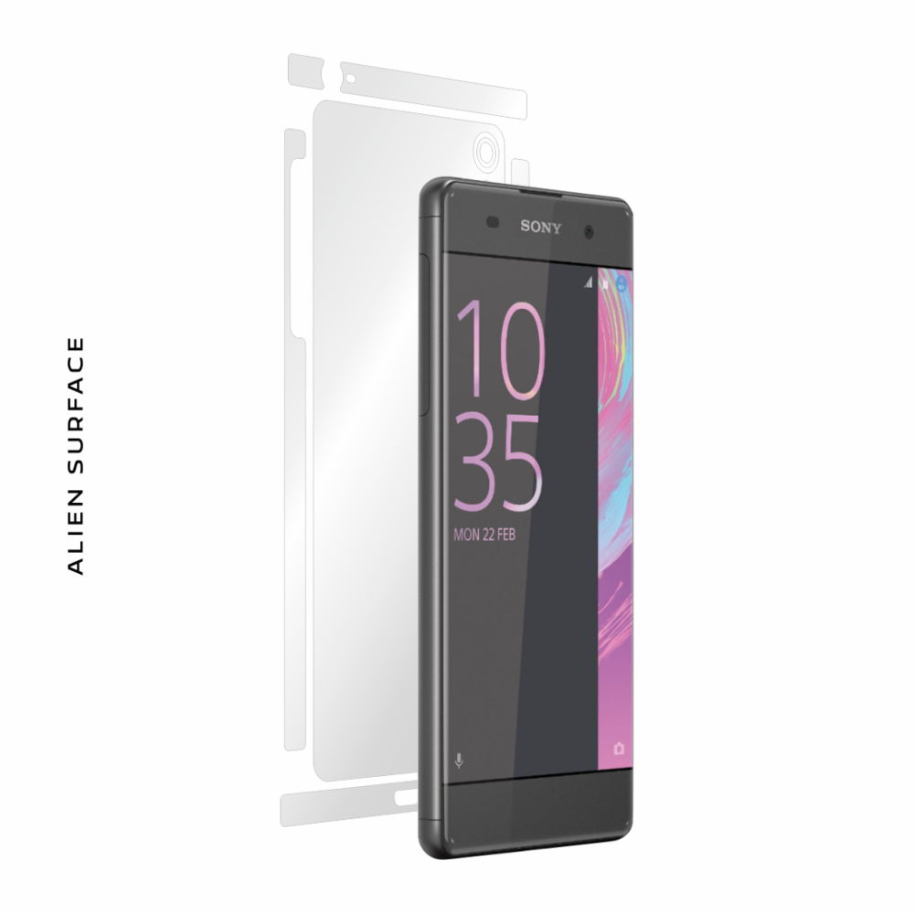 Sony Xperia XA folie protectie Alien Surface