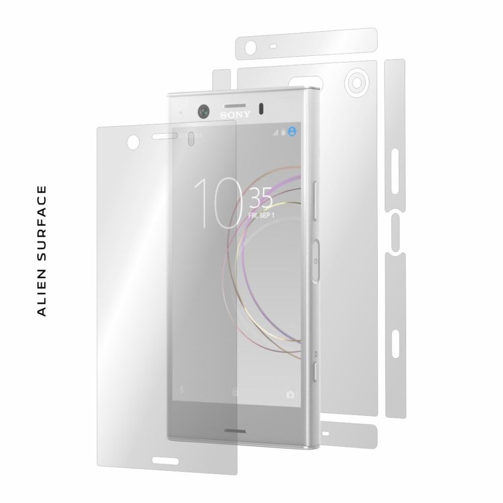 Sony Xperia XZ1 Compact folie protectie Alien Surface