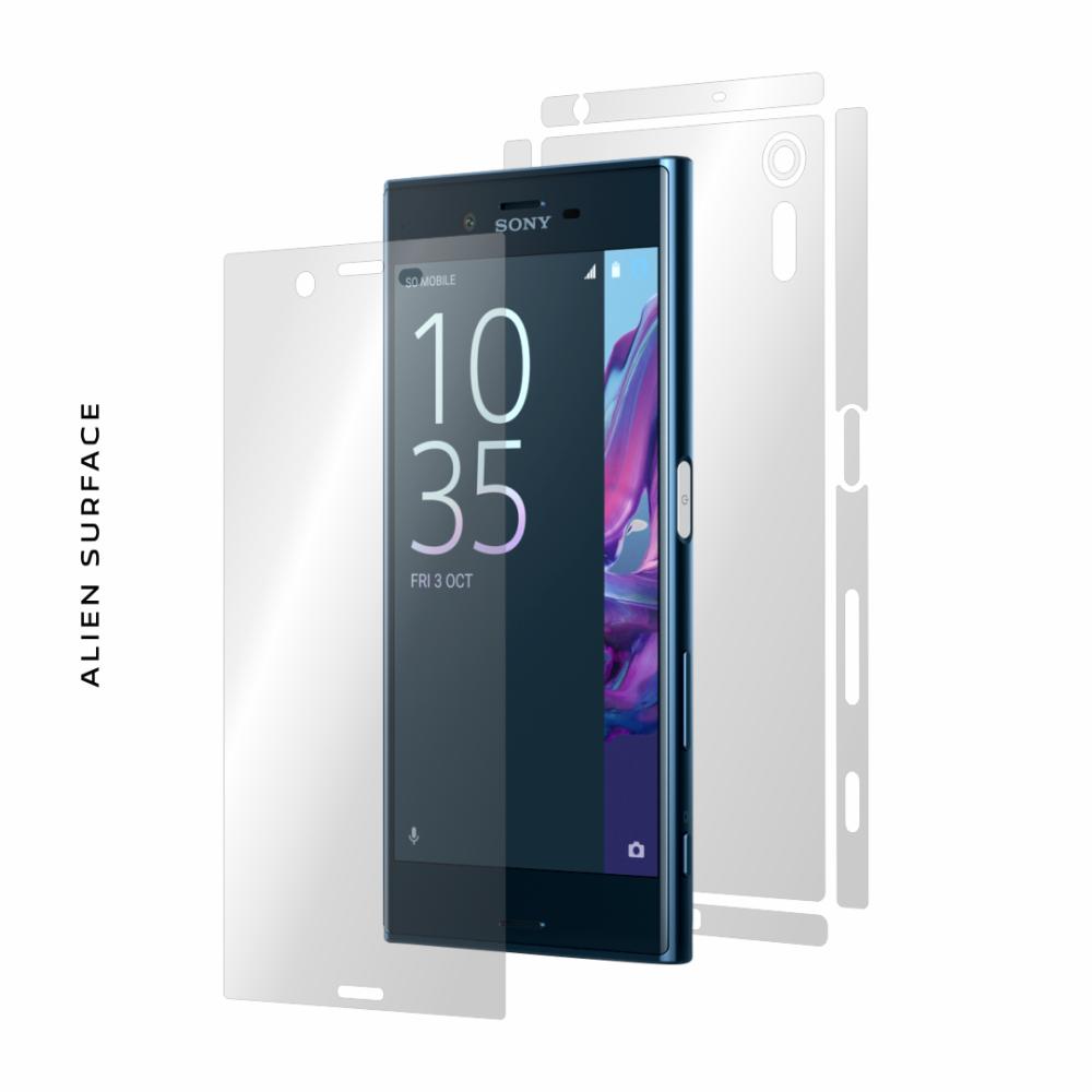 Sony Xperia XZs folie protectie Alien Surface