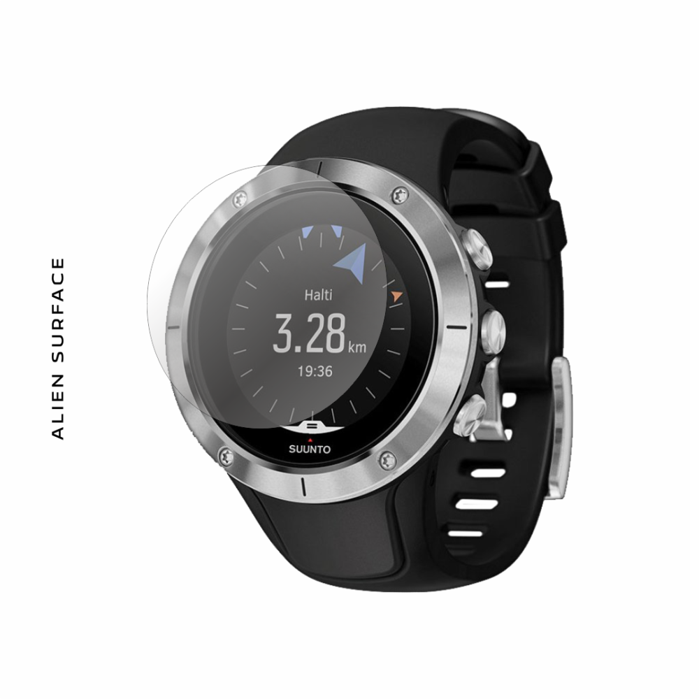 Suunto Spartan Trainer Wrist HR Steel folie protectie Alien Surface