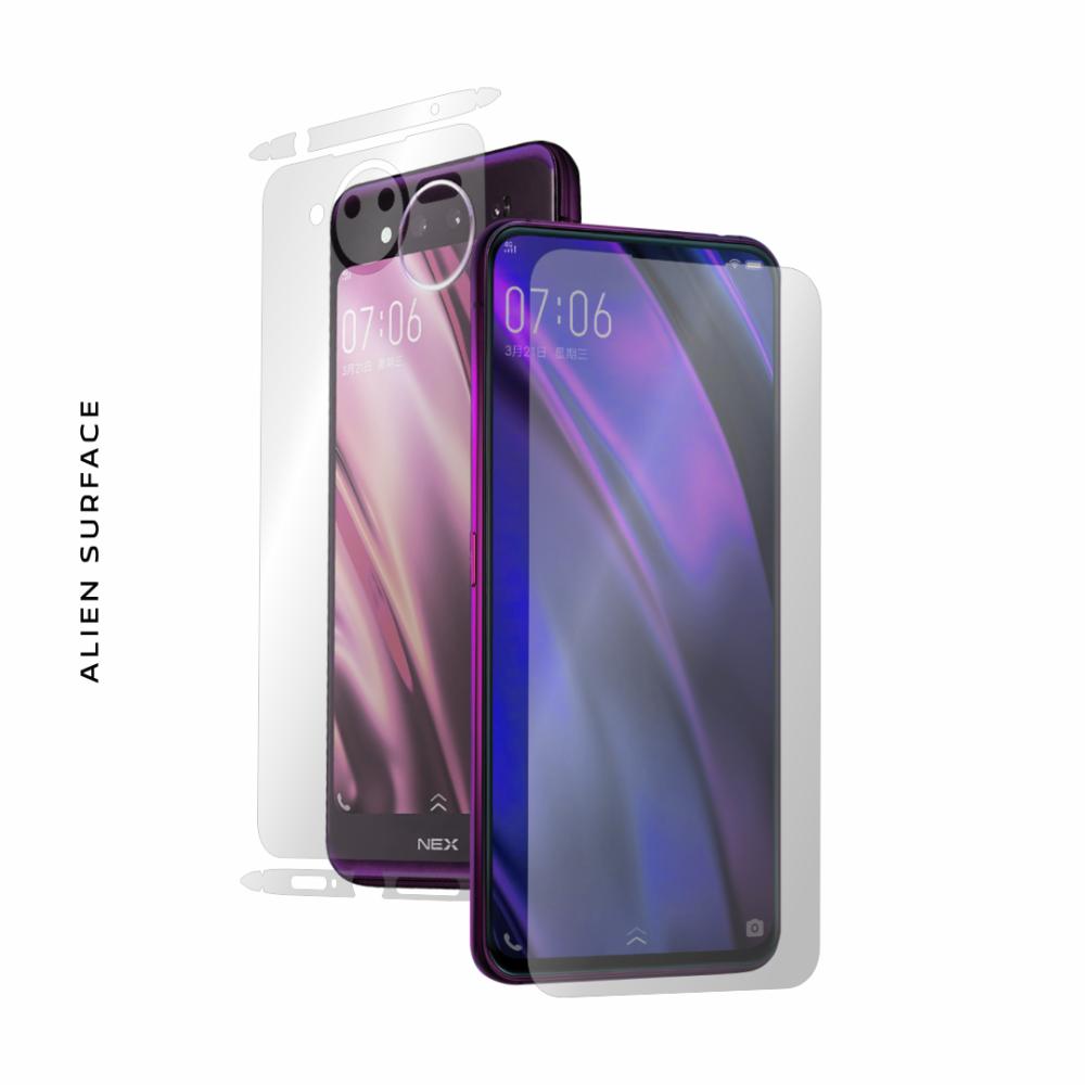 Vivo Nex S Dual Display folie protectie Alien Surface