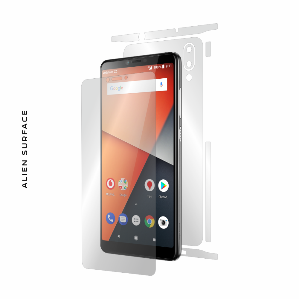 Vodafone Smart X9 folie protectie Alien Surface