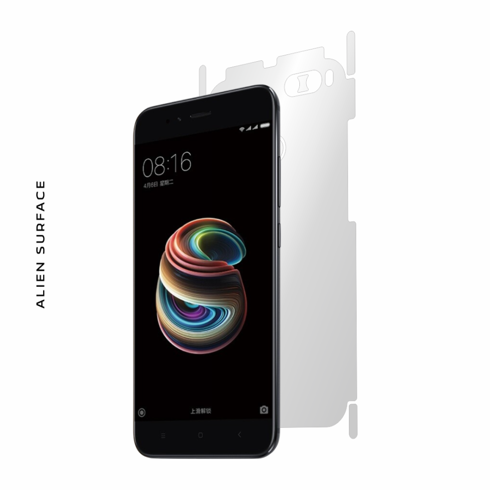 Xiaomi Mi 5X folie protectie Alien Surface